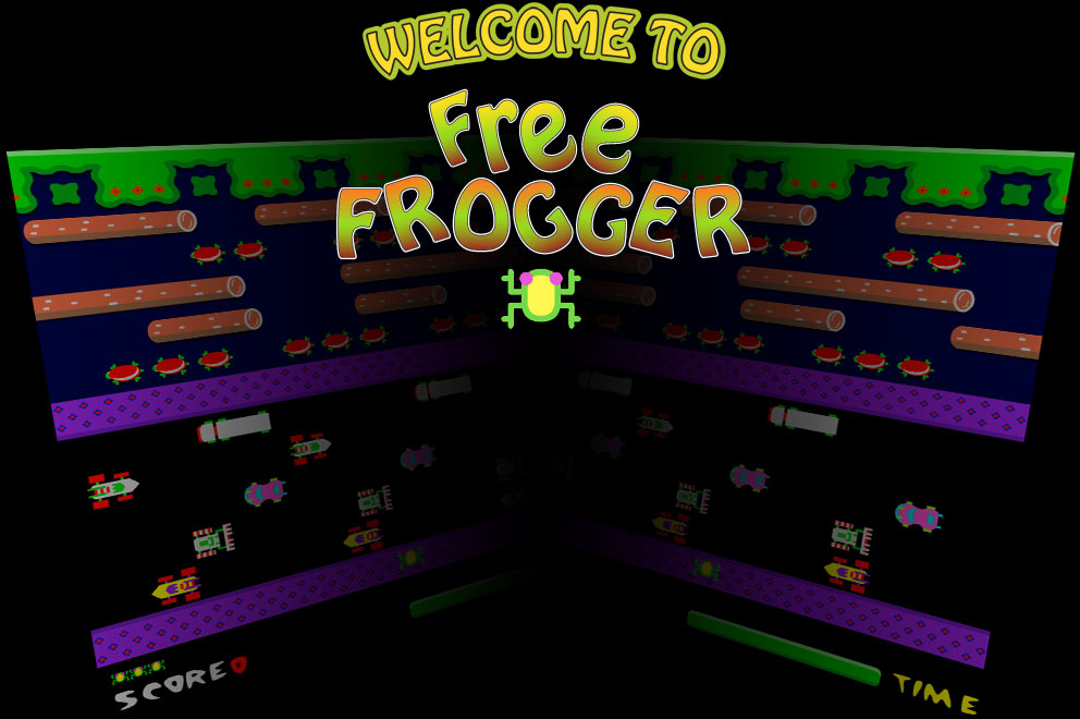play frogger online free full screen